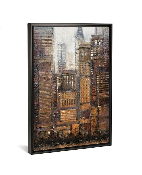 "iCanvas Uptown City I by Tim Otoole Gallery-Wrapped Canvas Print - 40"" x 26"" x 0.75"""