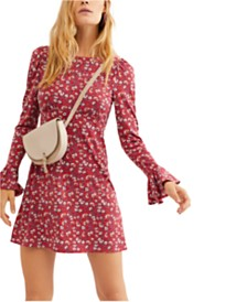Free People Say Hello Mini Dress