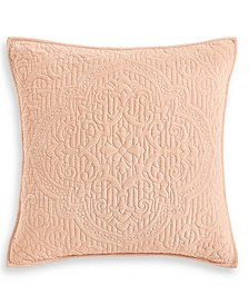 Classic Roseblush Quilted European Sham, Created for Macy's