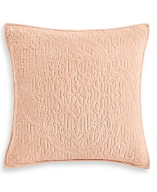 Hotel Collection Classic Roseblush Quilted European Sham, Created for Macy's
