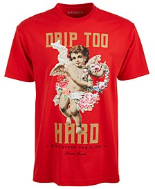 Men's Drip Too Hard Graphic T-Shirt