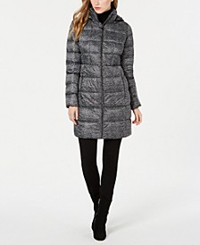Petite Hooded Puffer Coat, Created for Macy's