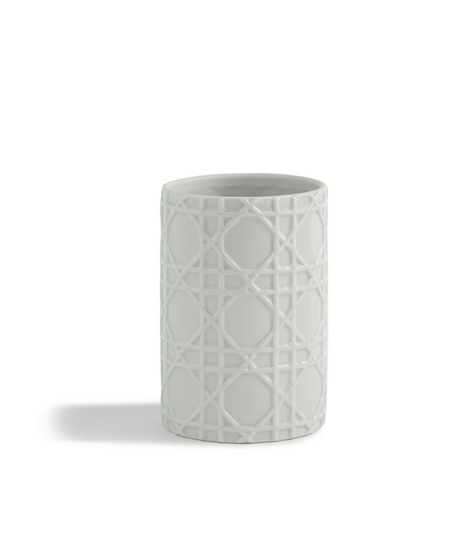 Cassadecor Embossed Porcelain Tumbler