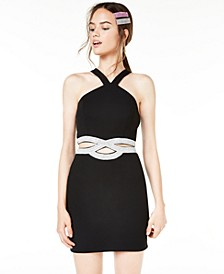 Juniors' Cutout Bodycon Dress