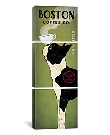"""Boston Terrier Coffee Co. by Ryan Fowler Gallery-Wrapped Canvas Print - 60"""" x 20"""" x 1.5"""""""