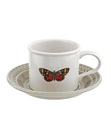 Botanic Garden Harmony  Butterfly Cup & Saucer