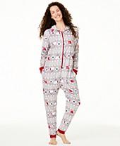 Cute Womens Christmas Pajamas.Matching Family Christmas Holiday Pajamas Macy S