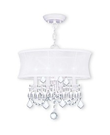 Newcastle 4-Light Convertible Mini Chandelier/Ceiling Mount