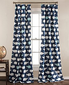Whale Print Curtain Collection