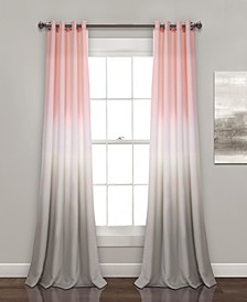 "Ombre Fiesta 52"" x 84"" Curtain Set"
