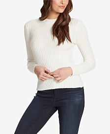 Skinnygirl Claudia Back Cutout Sweater