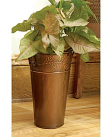 "KINDWER 12"" Leaf Motif French Vase"