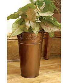 """St. Croix KINDWER 12"""" Leaf Motif French Vase"""