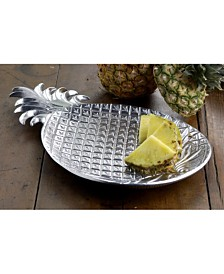 "St. Croix KINDWER 17"" Aluminum Pineapple Tray"