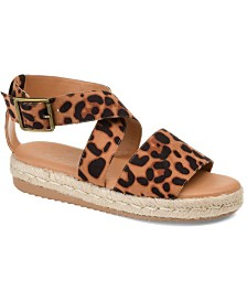 Journee Collection Women's Trinity Sandals