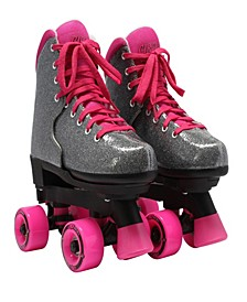 "Girls Adjustable ""Bling Sizzling Pink"" Skate"