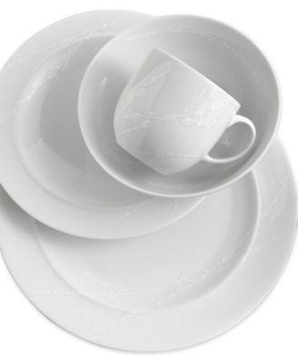 Denby  White Trace  Dinnerware  sc 1 st  Macyu0027s & Denby