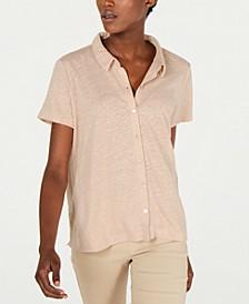 Button Down Organic Cotton Shirt