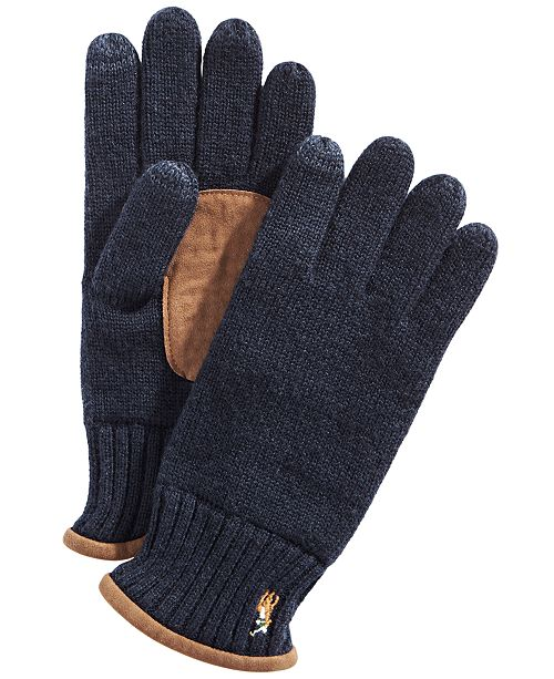 Polo Ralph Lauren Men's Classic Lux Tech Touch Gloves