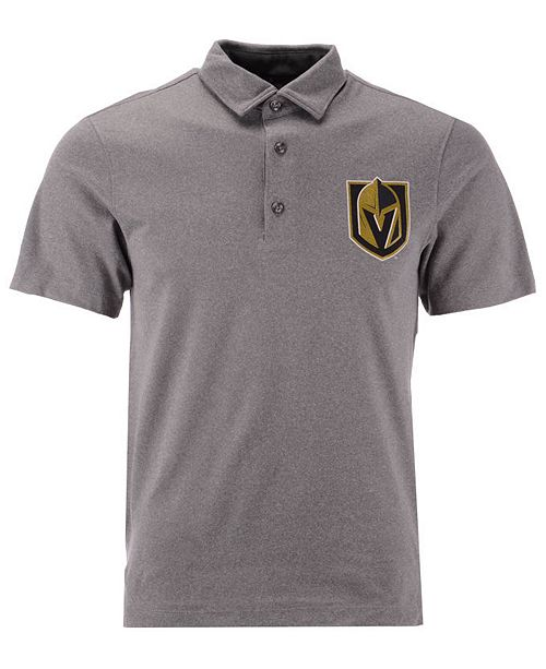 free shipping 0adac 58579 Men's Vegas Golden Knights Prime Logo Polo