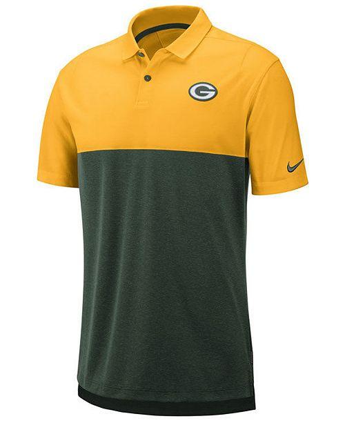 Nike Men's Green Bay Packers Early Season Polo
