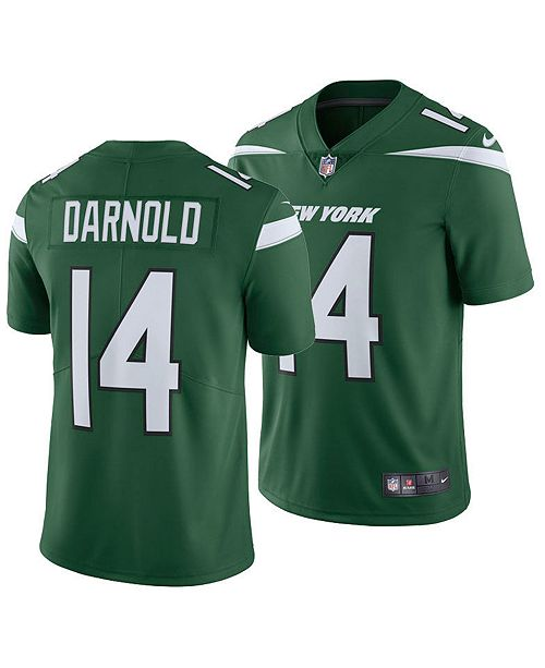 low priced 43316 bf485 Men's Sam Darnold New York Jets Vapor Untouchable Limited Jersey
