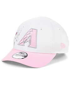 New Era Toddlers & Little Girls Arizona Diamondbacks Minnie Heart 9FORTY Adjustable Cap