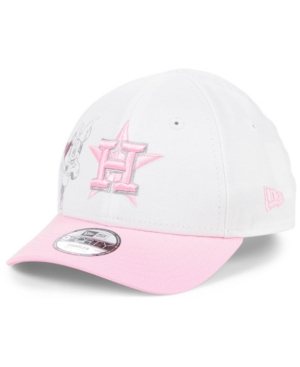 New Era Caps TODDLERS & LITTLE GIRLS HOUSTON ASTROS MINNIE HEART 9FORTY ADJUSTABLE CAP