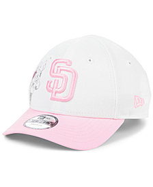 New Era Toddlers & Little Girls San Diego Padres Minnie Heart 9FORTY Adjustable Cap