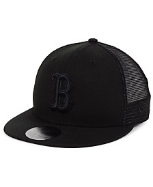 New Era Boston Red Sox Blackout Meshback 59FIFTY-FITTED Cap