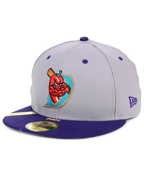 New Era El Paso Diablos MiLB 100TH Anniversary Patch 59FIFTY-FITTED Cap