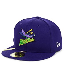 New Era Louisville Riverbats MiLB 100TH Anniversary Patch 59FIFTY-FITTED Cap