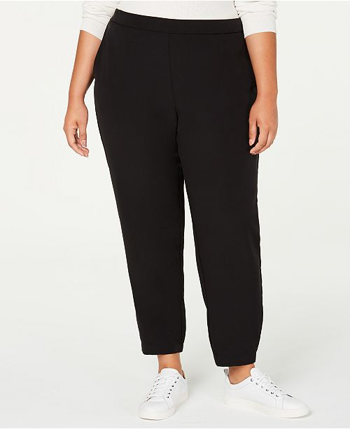 Eileen Fisher Plus Size Track Pants