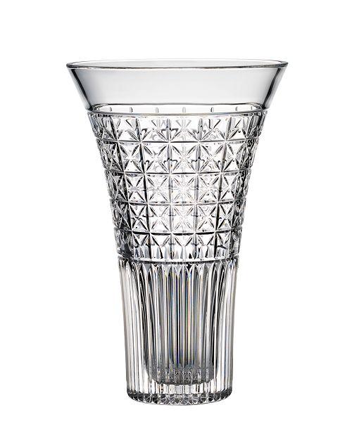 """Waterford Master Craft Powerscourt 12"""" Vase"""