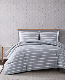 Maddow Stripe Full/Queen Comforter Set