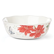 Butterfly Meadow Holiday Serving Bowl, Created for Macys