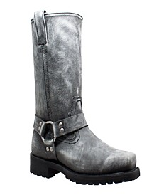 "Men's 13"" Stonewashed Harness Boot"