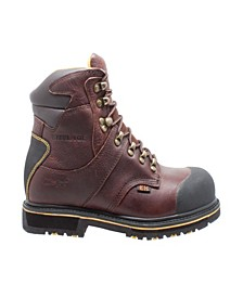 "Men's 6"" Steel Toe Waterproof Work Boot"
