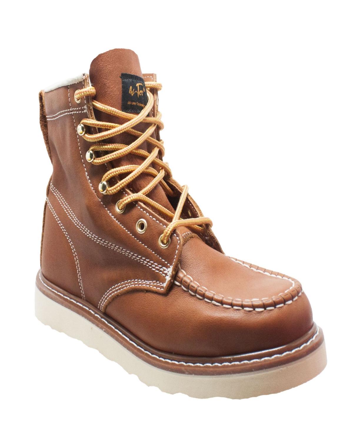 "AdTec Men's 6"" Moc Toe Work Boot Men's Shoes"