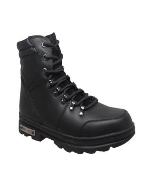 "Men's 6"" Reflective Biker Boot Men's Shoes"
