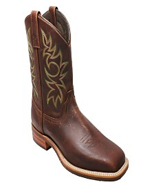 "AdTec Men's 11"" Work Western Square Toe Boot"
