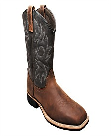 "AdTec Men's 12"" Work Western Square Toe Boot"