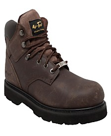 "AdTec Men's 6"" Steel Toe Work Boot"