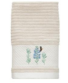 Lenox Meadow Bird Fingertip Towel