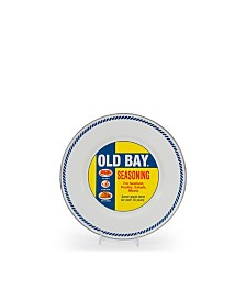 """Golden Rabbit Old Bay Enamelware Collection 8.5"""" Sandwich Plate"""