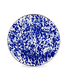 "Cobalt Swirl Enamelware Collection 12.5"" Charger Plate"