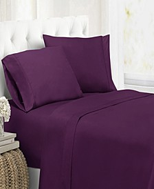Ultra Soft Microfiber Double Brushed Blissful Dreams Cal King Sheet Set