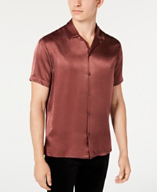 I.N.C. Men's Satin Shirt, Created for Macy's