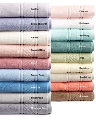 Martha Stewart Collection 100/% Cotton Spa Bath Towel Collection Duckling