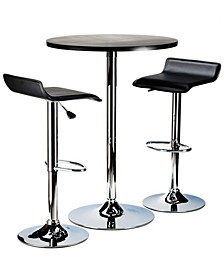 Spectrum 3-Piece Pub Table Set